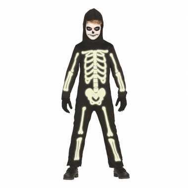 Skelet Voor Halloween.Glow The Dark Halloween Skelet Pak Kids
