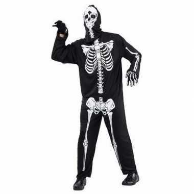 Halloween horror skelet pak volwassenen