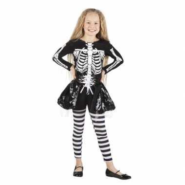 Halloween Skelet pak meisjes