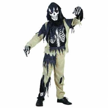 Zombie skeletten pak kinderen
